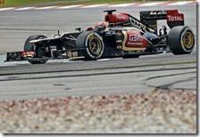Raikkonen nelle prove libere del gran premio della Malesia 2013
