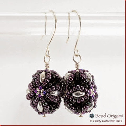 grape sence earring