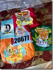 Disneyland Half Marathon Expo Gear 2