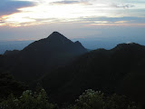 Dawn on Gunung Muria summit ridge (Daniel Quinn, June 2010)