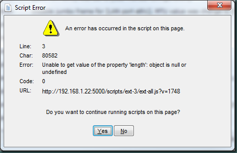 DS2411.DSM.Script.Error