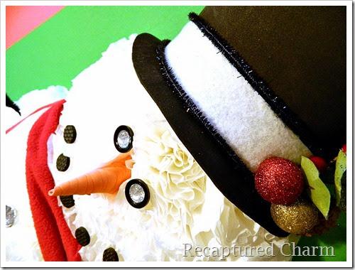 coffee filter snowman 27