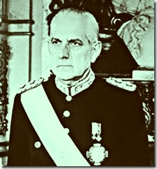 Reynaldo Bignone presidente da ditadura argentina. Mar.2013