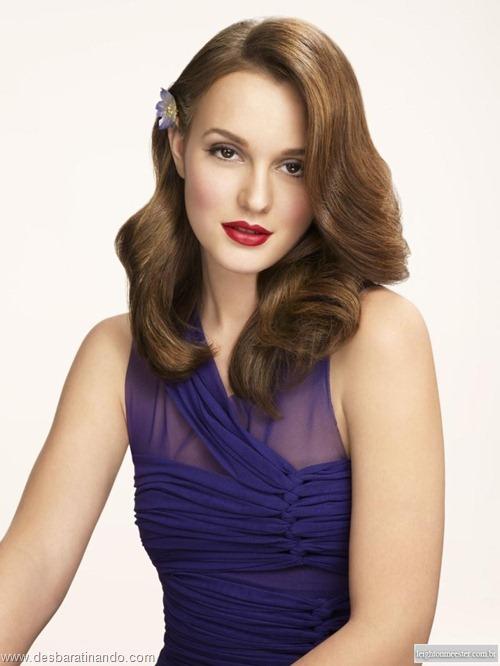 Leighton meester blair gossip girl garota do blog linda sensual desbaratinando  (4)