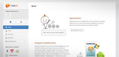 Samsung ChatON versione web