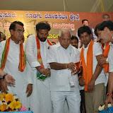 B.S.Yeddyurappa Mysore-Kodagu Election Manifesto @ Rajendra Kalamandir