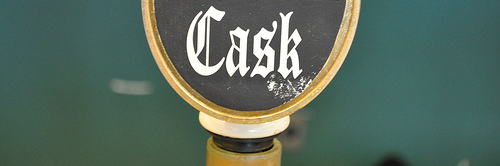 image of Red Hook's cask handle from Cask Fest 2010