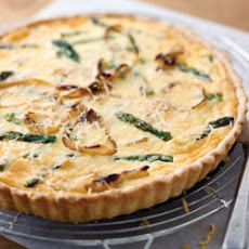 Asparagus and Parmesan Tart