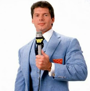 Vincent Kennedy Vince McMahon announcer
