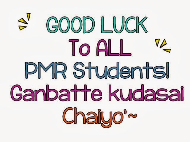 pmr good luck