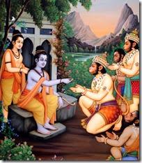 [Rama and Lakshmana with the Vanaras]