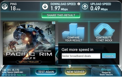speedtest 07-13-13 after reboot
