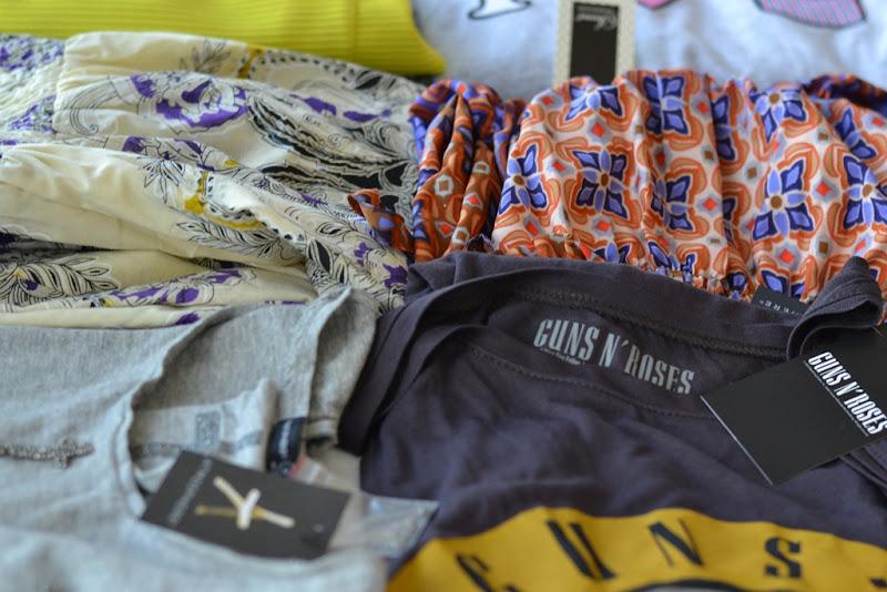 Primark Clothes, Primark, Guns N'Roses T-shirt, Etno Dress, Floral Dress