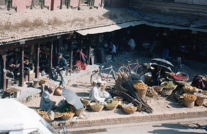 Obiective turistice Nepal: Patan piata.jpg