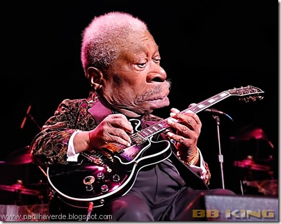 Caricatura BB King