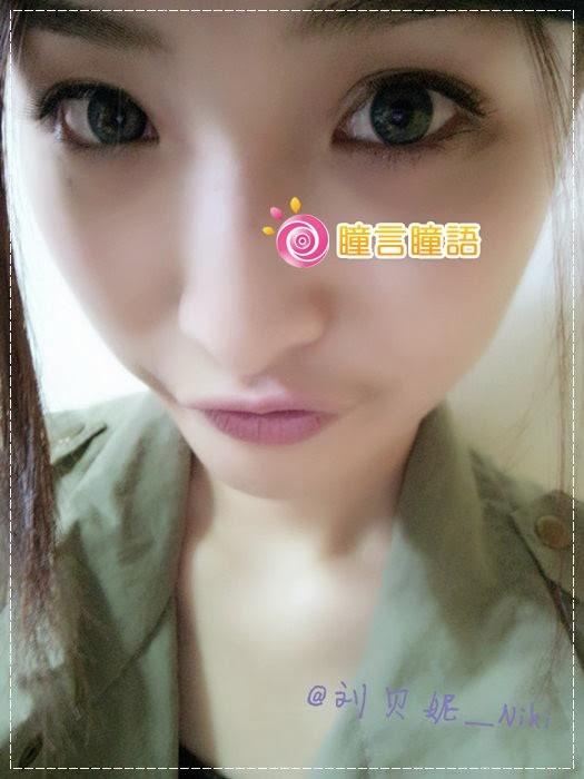 韓國GEO隱形眼鏡-GEO Sparkling 火花四色藍img4