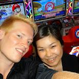 stranged thing ever - meeting my friend Yuko in a random arcade - we go way back in Shibuya, Tokyo, Japan