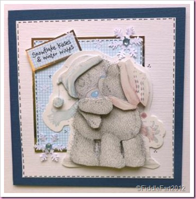 Tatty teddy winter wishes card