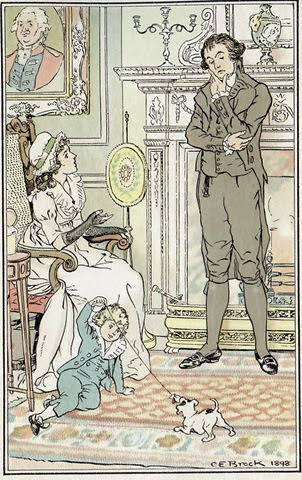 jane austen1 illustratrie C. E. Brock, 1898
