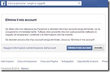 Come cancellarsi da Facebook?