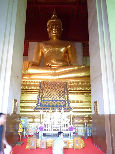 Pra Mongkhon Bophit is one of the largest bronze Buddha&#039;s in Thailand.