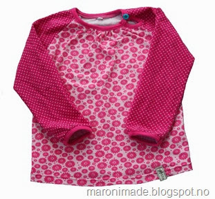 genser med rosa blomster- ikke publisert