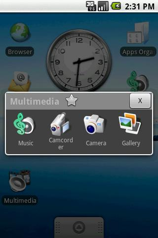 apps-organizer for android screenshot