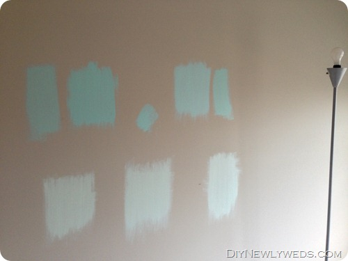 Choosing a turquoise paint color