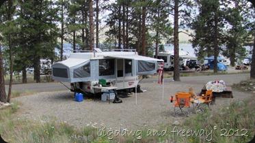 our campsite #118