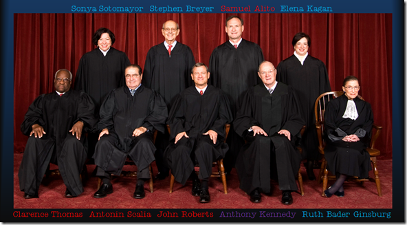 John Roberts' Supreme Court 2012