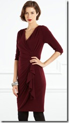 Sleeved Wrap Dress