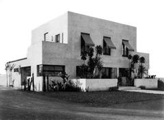 Casa Modernista em foto da época