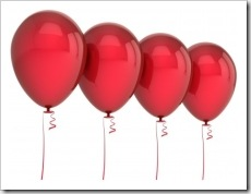 Four balloons