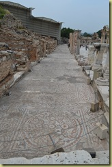 Ephesus mosaic along Curetes Street