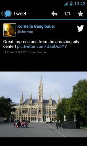 Echofon PRO for Twitter - screenshot