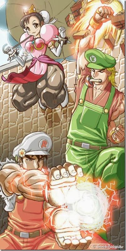 MARIO-CHUNLI-KEN-RYO-STREET-FIGHTER