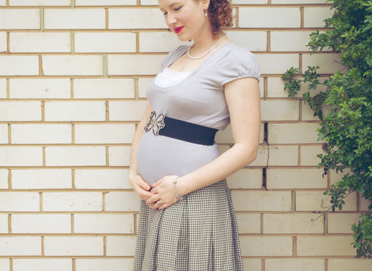 Time for bump number 3 | Lavender & Twill