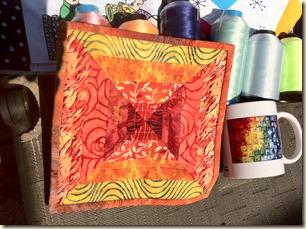 Wanda's mug rug and mug