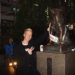 hachiko and me in Shibuya, Tokyo, Japan