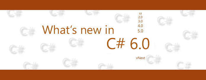 Whats new in CSharp 6.0 - header