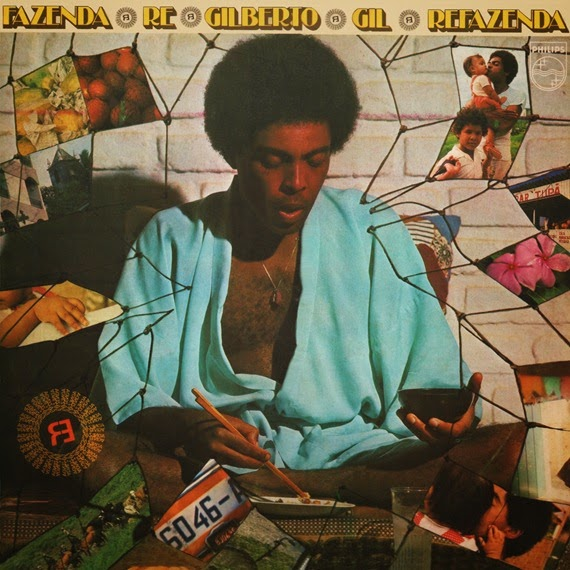 Gilberto Gil -1975- Refazenda capa
