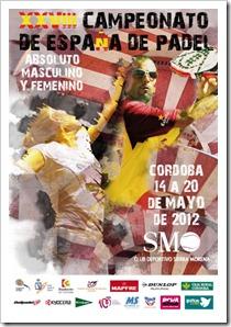 XXVIII Campeonato Absoluto de España de Pádel Masculino y Femenino en Córdoba 2012.