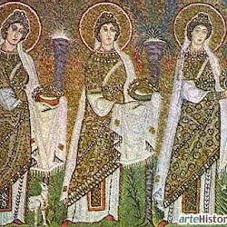 42 - Cortejo procesional en San Apolinar el nuevo de Ravena