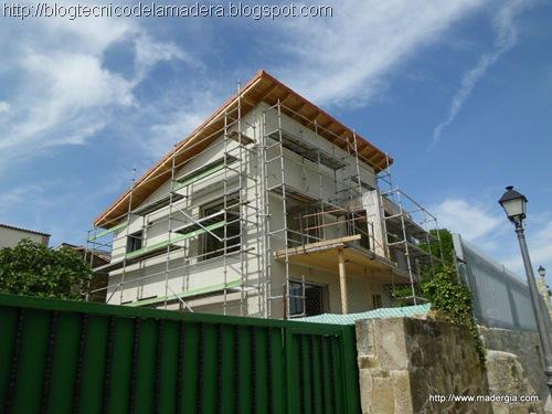 Blog t cnico de la madera vivienda unifamiliar con panel for Coste construccion vivienda unifamiliar