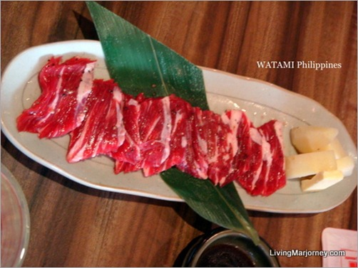 Watami: Self-grilled Short Ribs