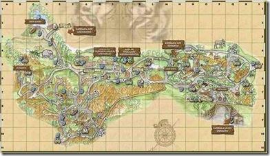 cabarceno mapa