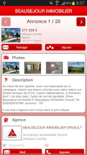 Beauséjour Immobilier - screenshot