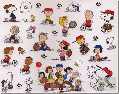 Snoopy in Season - Play Time with Peanuts Mook 2014 05 Stickers