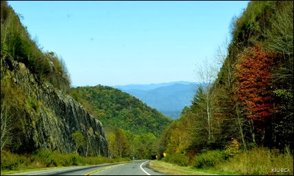 highway 64 between Murphy and Franklin NC