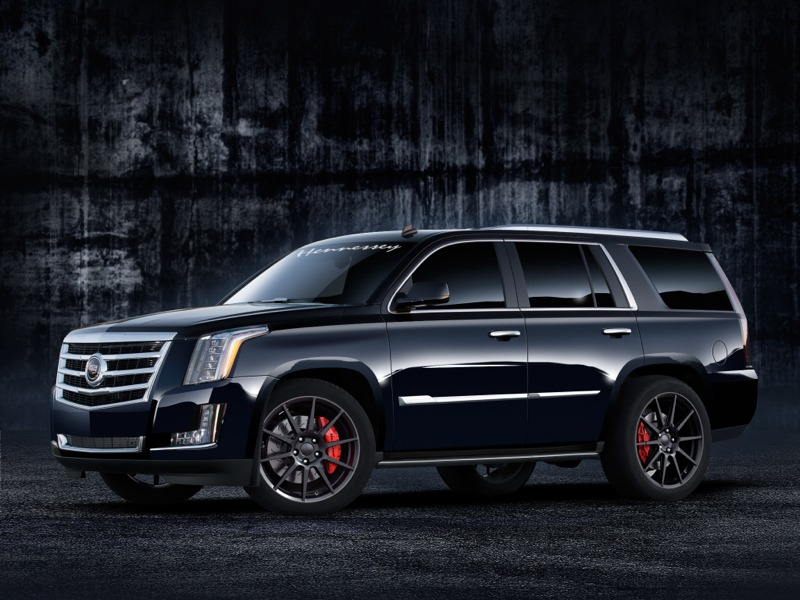 Cadillac Escalade Suv By Hennessey Serves Up Supercharged